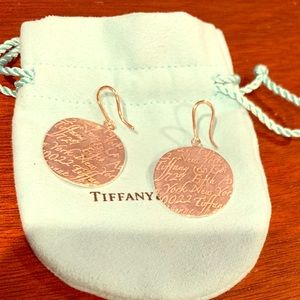 Tiffany & Co Notes Earrings sterling silver